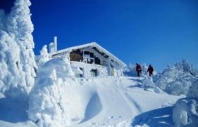snow chalet